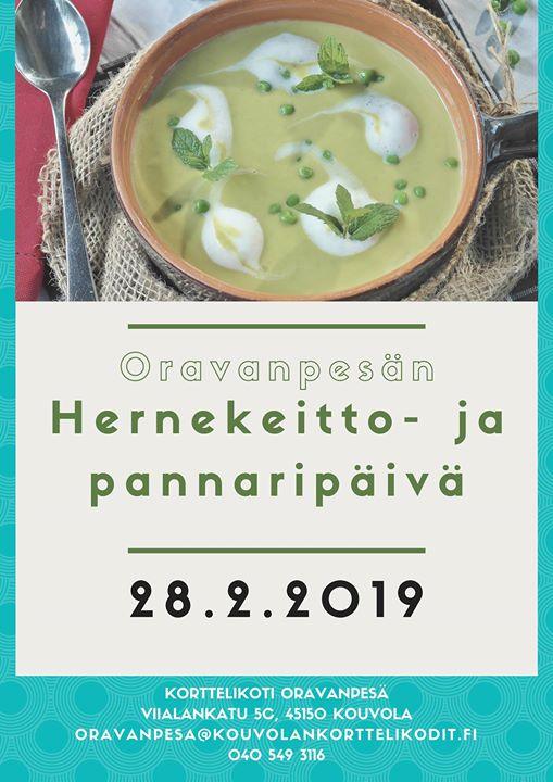 You are currently viewing Hernekeitto- ja pannaripäivä Oravanpesällä