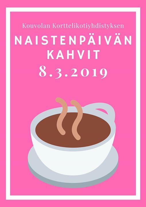 Naistenpäivän kahvit Korttelikodeilla
